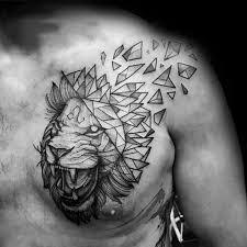 50 Lion Ramenní Tetování Vzory Pro Muže Mužské Inkoustové Nápady