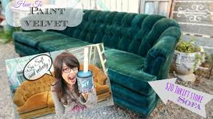 how to paint upholstery keep it soft and velvety no ing or hard texture you