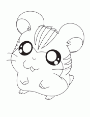 Small Picture Hamtaro With A Ring Coloring Page Kids Coloring Page Coloring Home