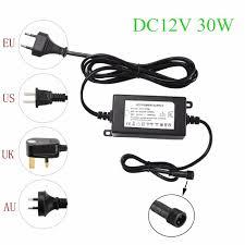 IP67 Waterproof DC12V 30W Transformer <b>Power Supply</b> Driver for ...