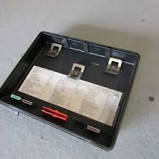 bmw e34 525i 530i 535i 540i fuse box cover oem 1374029 ebay bmw e34 fuse box at Bmw E34 Fuse Box