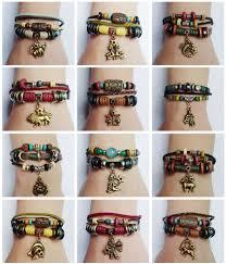 SALE 20% OFF 12 Zodiac Signs <b>Charm</b> Bracelet. <b>Boho Style</b> ...