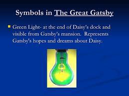 gatsbyreview symbols in the great gatsbyiuml129reg
