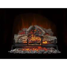 24 in electric log set with remote control