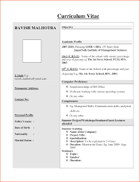 6 current cv format for freshers event planning template cv format for freshers engineers pontodeescuta info