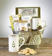relax nurture tea basket featuring tazo teas