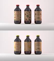 Kombucha Label Design Label Design For Natural Kombucha By Brandon Blanco
