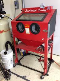 Benchtop Blast Cabinet Harbor Freight Blasting Cabinet Restorations Modifications