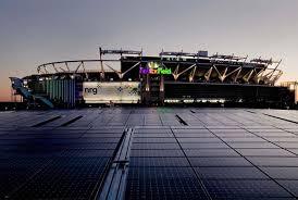 Fedexfield Solar Panel Installation Clark Construction