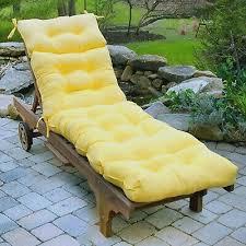 chaise lounge chair cushion 72 tufted