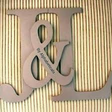 decorative wooden letters nursery letter decor for wall monogram large photo