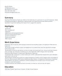 Gallery Of Supervisor Resume Shift Supervisor Resume And Get