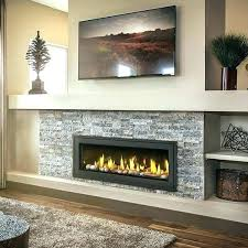recessed electric fireplaces recessed mount