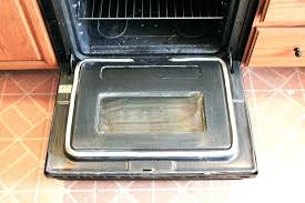 outer oven door glass replacement how to clean your oven door glass when baking soda wont