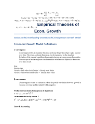 relationship between finance and economic growth essay plan  empirical theories of economic growth definitions model description
