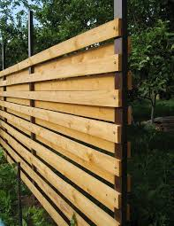 diy privacy fence designs. how to build a horizontal fence with your own hands diy privacy designs i