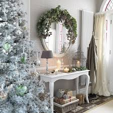 white hallway console table. Console Table Christmas Decorations White Hallway