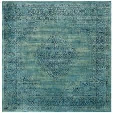 safavieh rugs square unique safavieh vintage turquoise multi 8 ft x 8 ft square area rug
