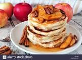 baked apple maple pancakes