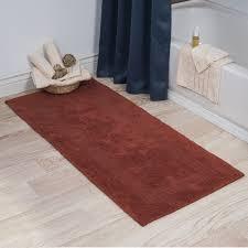 bathroom rug runner extra long reversible bath rug pics 38