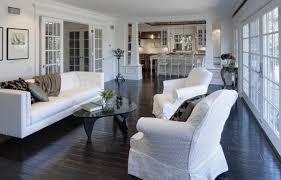 ... Sensational Ideas Dark Wood Floors Living Room 6 View In Gallery  E1347800345261 How To Use Dark ...