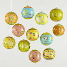 ... Stylish Design 12 Days Of Christmas Decorations Ornaments Fab ...