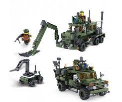 """<b>Конструктор KAZI</b> """"<b>Инженерные</b> войска"""" - 84040 – купить по ..."""