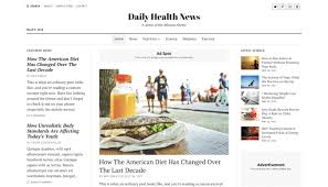 The Changing Times Newspaper Template Top 19 Best Wordpress Newspaper Themes For 2019 Compete Themes