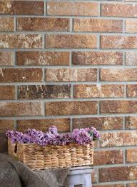add a rustic brick wall to your kitchen