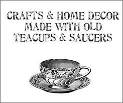 Decorating With Teacups And Saucers Dishfunctional Designs Crafts Home Decor Made With Teacups 46