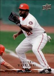Amazon.com: 2008 Upper Deck #167 Dmitri Young MLB Baseball Trading Card:  Collectibles & Fine Art