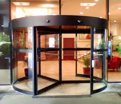 STANLEY Rush 1500A Automatic Revolving Door   STANLEY Access