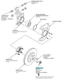 Front Right Drive Axle Nut Torque Spec Honda Ridgeline