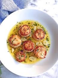 Lemon Tarragon Seared Scallops recipe ...