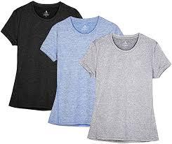 icyzone Workout Running <b>Tshirts</b> for <b>Women</b> - Fitness <b>Athletic Yoga</b> ...