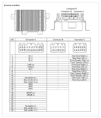 i have a kia sportage 2010 with premium factory head unit and amp 2013 kia optima speaker wire colors at 2008 Kia Sportage Radio Wiring Diagram