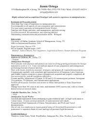 paralegal resume sample inspiration decoration - Immigration Paralegal  Resume