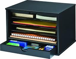 com victor wood midnight black collection 4 shelf desktop organizer black 4720 5 office desk organizers office s