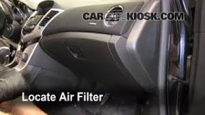 interior fuse box location 2011 2016 chevrolet cruze 2011 2011 2016 chevrolet cruze cabin air filter check