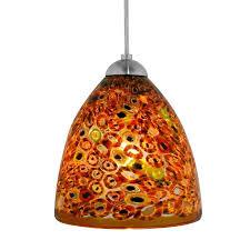 amber pendant lighting. Elan Klimt Amber Pendant Lighting