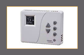 hvac thermostats programmable temperature controls johnson pneumatic to direct digital control ddc room thermostats