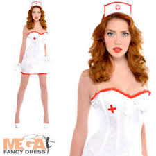 Image Is Loading Sexy Nurse Adults Fancy Dress Bedroom Uniform Ladies