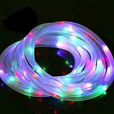 Color Changing Rope Lights Inspiration Amazon Rope Light Led Color Changing Solar Powered Outdoor