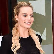 Pigtails Hair Style margot robbie cute pigtails in nyc 2016 popsugar beauty australia 7100 by wearticles.com