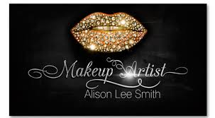 makeup artist diamonds sparkle lips