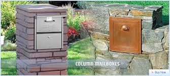 cool residential mailboxes. Mailbox Residential And Commercial Mailboxes With Free Standing Cool