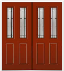 solstice steel 2 1 2 lite 2 panel transitional front doors by verona home design