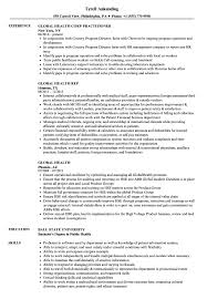 Public Health Resume Sample Global Health Resume Samples Velvet Jobs 18