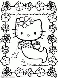 Beste Hello Kitty Tekening Kleurplaat 2019