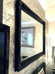 mirrored picture frames wall bathroom mirror green frame extra big mercury glass kit collage picture frame with glass